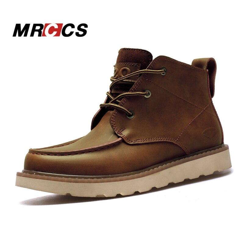 edc4ee6966 Sapatos Trabalho O Mrccs Brown D  Ankle 2017 preto Do Ferramental Redondo  Inverno De Prova Black ...
