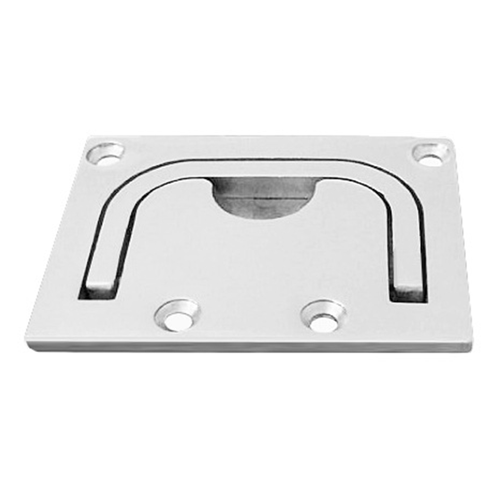 Locker Ring Yacht With Screws Boat Hardware Hatch Pull Deck Cover Handle Floor Buckle Replace Lifting Stainless Steel Durable