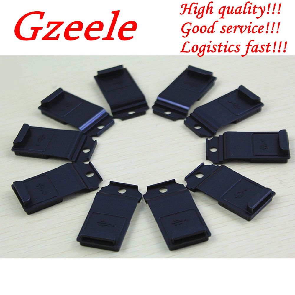 GZEELE New 10PCS for Panasonic <font><b>Toughbook</b></font> <font><b>CF</b></font>-<font><b>19</b></font> <font><b>CF</b></font> <font><b>19</b></font> USB DC-in Power Dust Cover Side USB Port Cover image