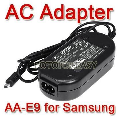 FOTGA AA-E9 AC Adapter For Samsung AA-E7 AA-E8 AA-E6A VP-DX200(i) VP-DX2050 VPDC175WB