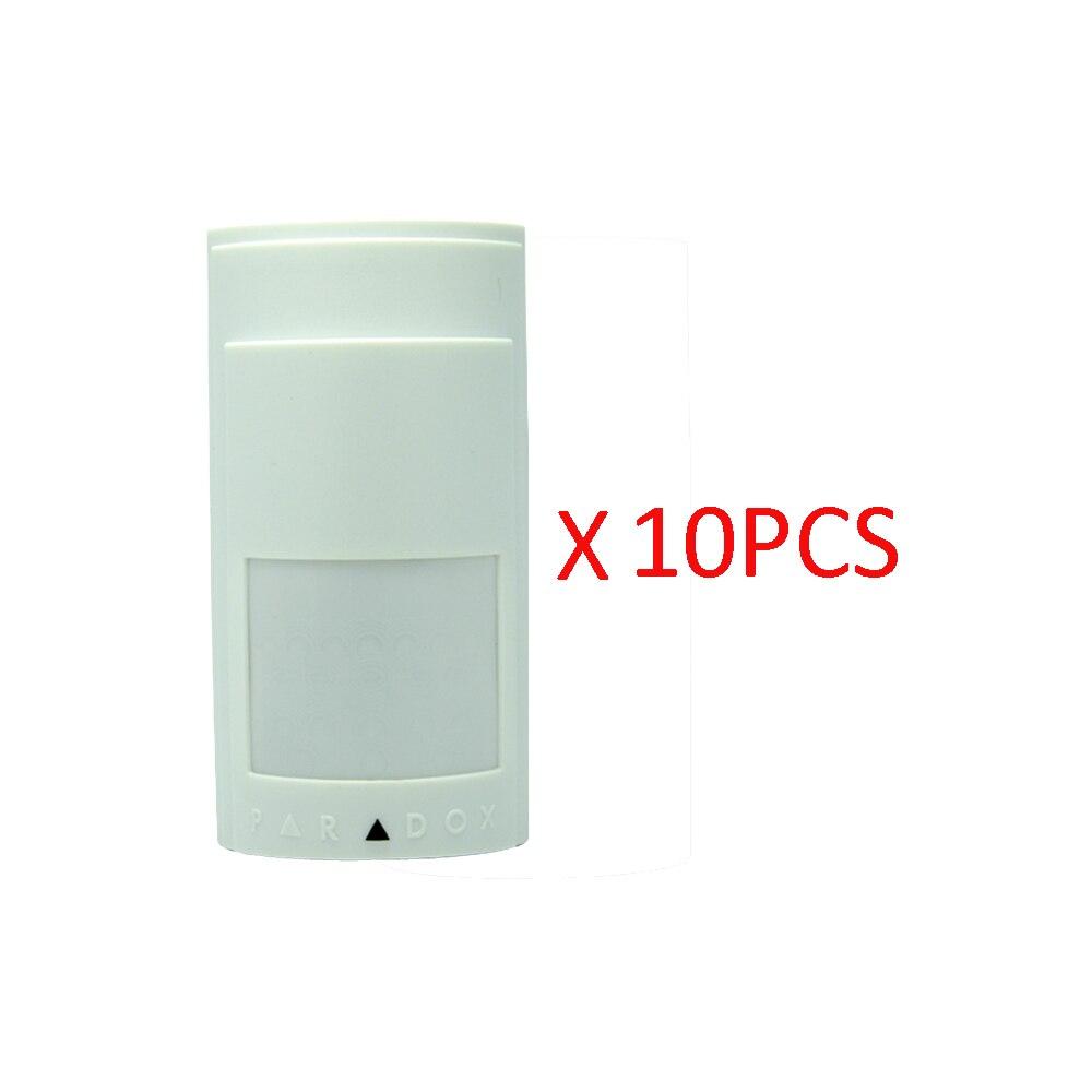 10 шт. инфракрасный детектор PA 525D датчик движения Микроволновая функция Pet иммунитет цифровой Интеллектуальный PIR сигнализация