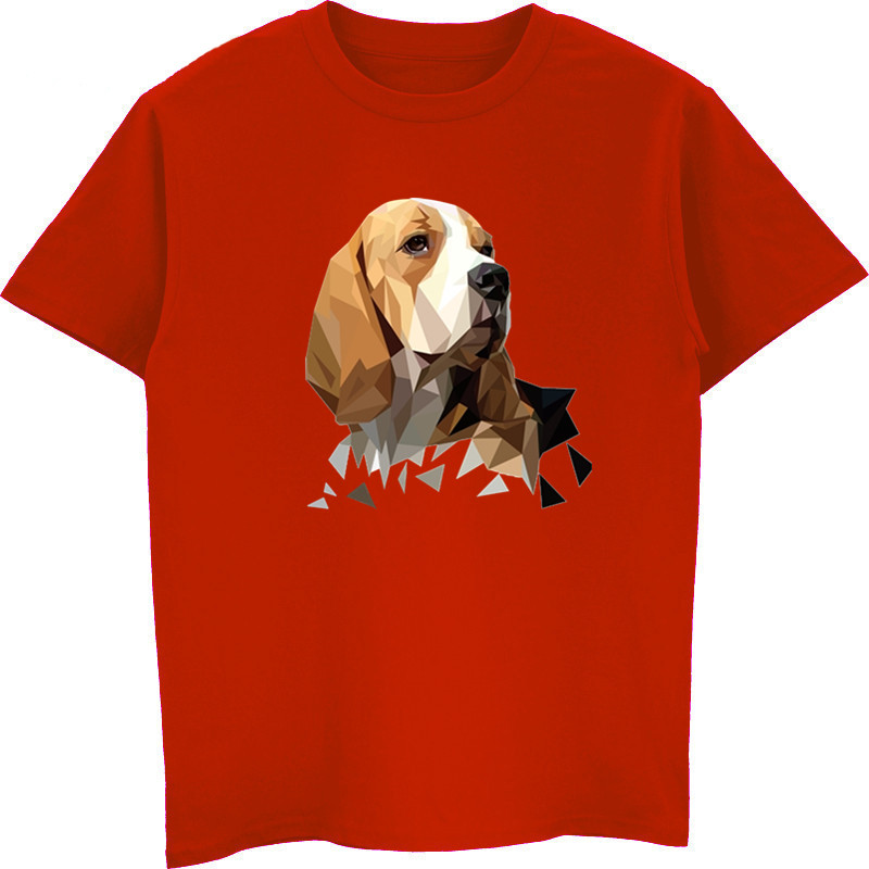 fadb0a6c1 New Beagle Dog Head Fashion T Shirts Youth Cotton Short Sleeve T Shirt  Popular Youth Tee Shirt Design Harajuku Streetwear-in T-Shirts from Men's  Clothing on ...