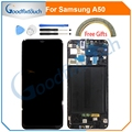 For Samsung galaxy A50 2019 A505F/DS A505F A505FD A505A LCD Display Touch Screen Digitizer Assembly With Frame