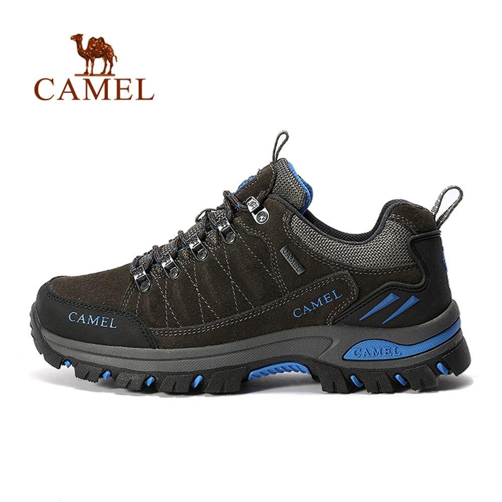 CHAMEAU Automne Hiver Tendance Randonnée Chaussures Hommes Respirant Étanche Anti-dérapage Chasse Tourisme Sports de Plein Air Trekking Sneakers