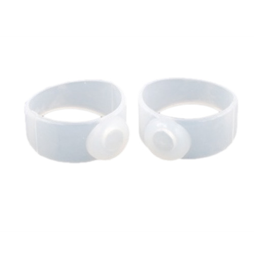 Pair Silicone Magnetic Body Toe Ring Keep Slim Lose Weight Health Care Beauty