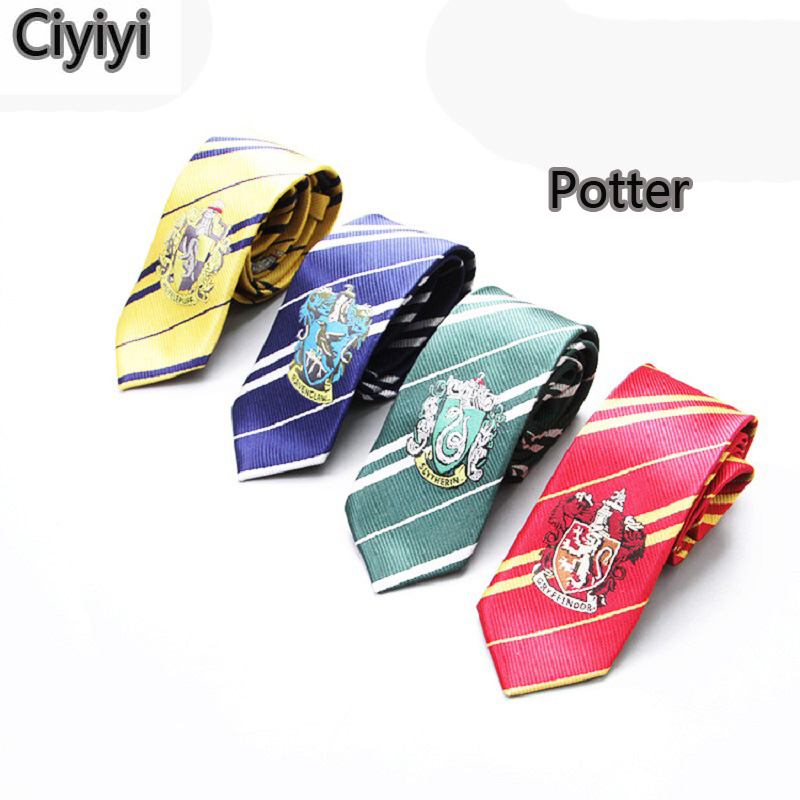 Harri Cosplay Hogwarts School Tie Toys Magic World Harri Potter Party Show Student Dec Jouet Gift Halloween Gift For Kids Toy