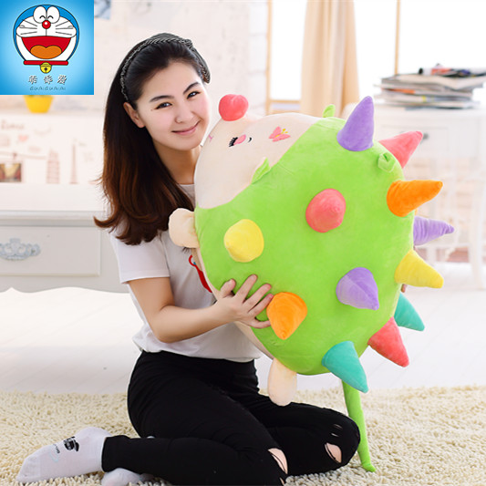 lovely colorful cartoon Hedgehog large 90 cm plush toy soft hug toy pillow  ,Christmas gift x241 lovely giant panda about 70cm plush toy t shirt dress panda doll soft throw pillow christmas birthday gift x023