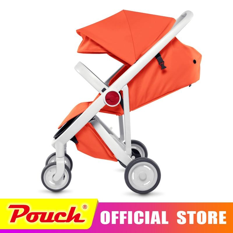 Mirabell 2018 nouvelle poussette haute paysage peut s'asseoir ou de s'allonger sur la roue portable bébé chariots bébé poussette Livraison gratuite