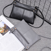Summer Of 2017 The New One Shoulder Envelope Handbag Han Edition Woven PU Two Kinds Of