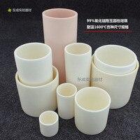 99 keramik Korund Alumina Flüchtige Wasser Asche Zylindrischen Tiegel Temperatur Widerstand 1600 Grad Verschiedene Spezifikationen wi