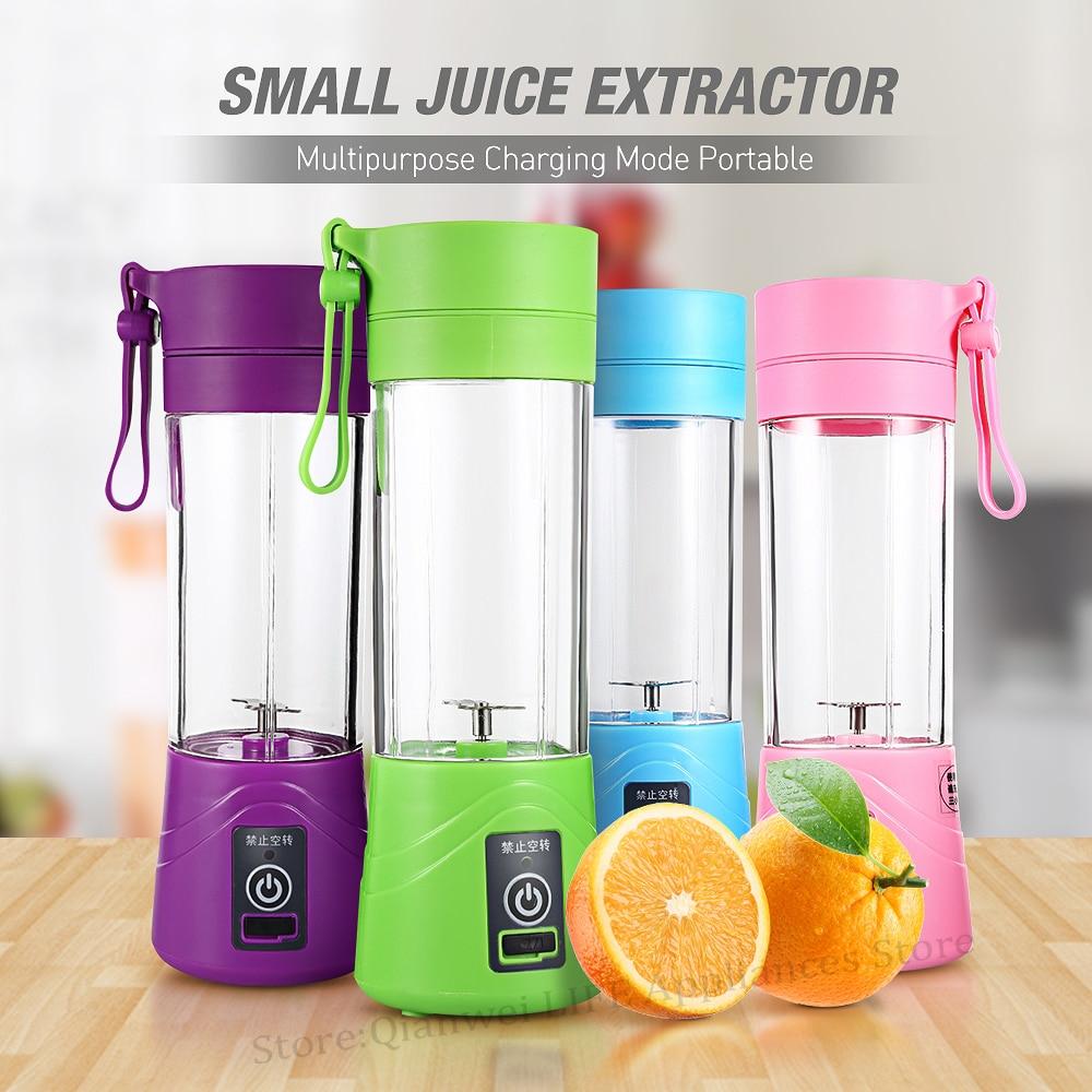 Mehrzweck Tragbare Entsafter Mixer Extractor Maschine USB Lade Haushalt 380 ml Ei Schneebesen/Lebensmittel kleine Cut Mixer Entsafter Tasse