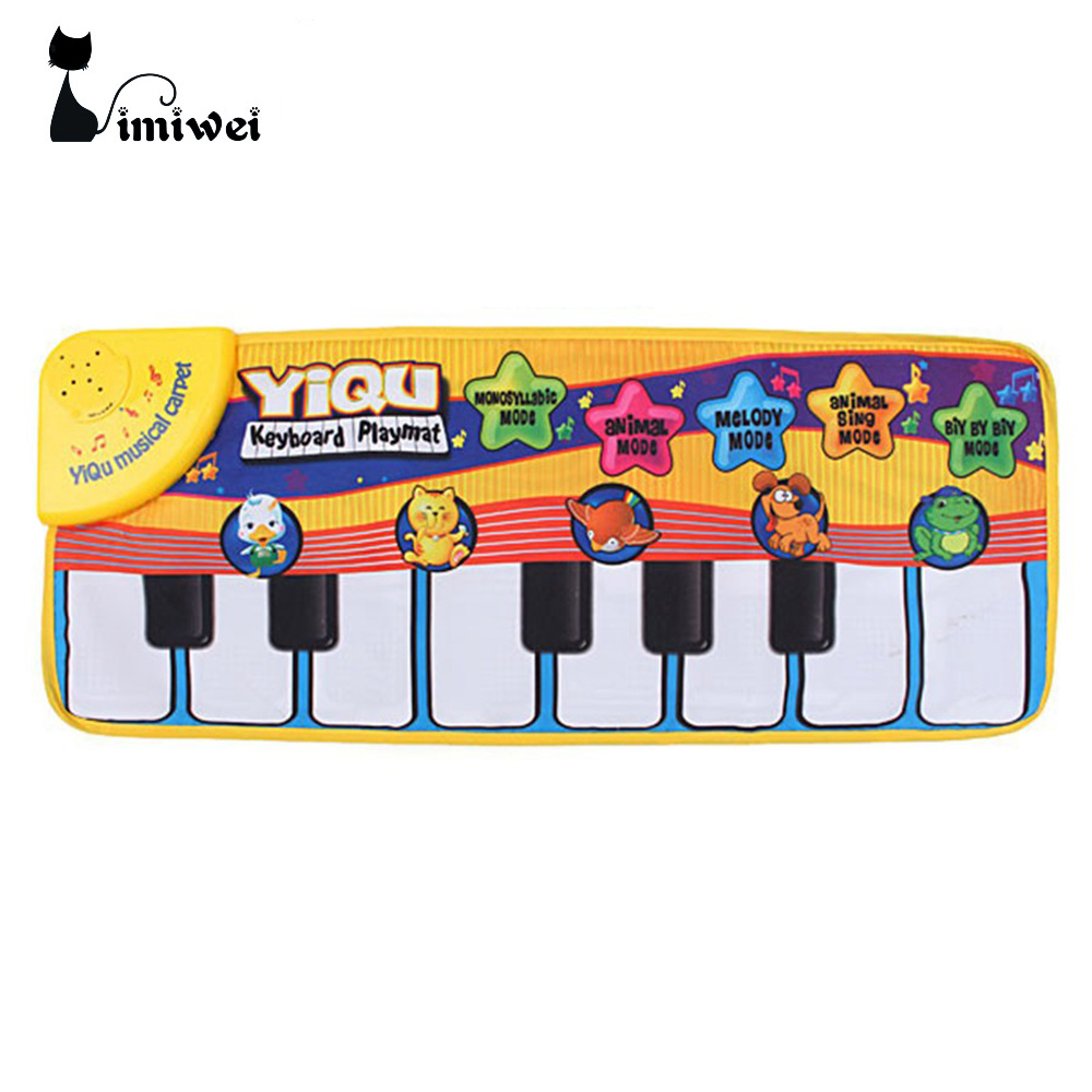 Children game blanket Multi Color Colour Kids Baby Animal Piano Musical Touch font b Play b