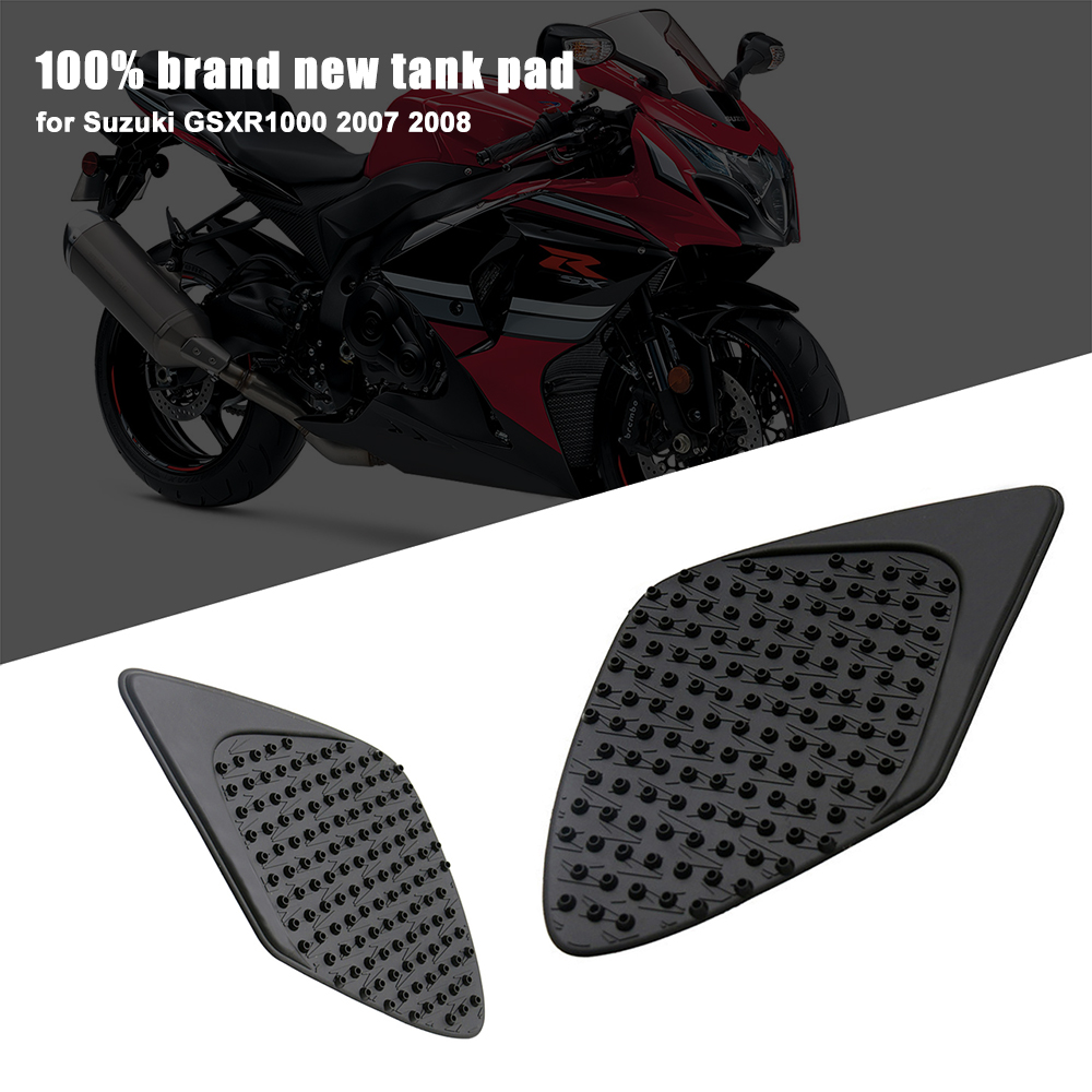 Decals & Stickers Automobiles & Motorcycles Mtimport 2007 Gsx-r Gsxr 1000 Anti Slip Tank Pad Side Gas Knee Grip Traction Pads Sticker Decals For Suzuki Gsxr1000 2007 2008 Beautiful And Charming