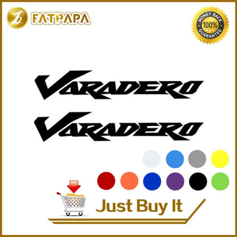 Penjualan Baru Moto Bersepeda Tangki Bahan Bakar Roda Hadiah Notebook Bagasi Helm Moto Stiker Decals untuk Honda Varadero 125 1000 XL1000