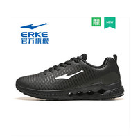 Erke 2018 summer new men's shoes sports shoes running non slip wear running shoes