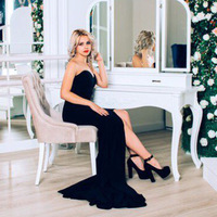 Dresses For Photo Shoot Pregnancy Dresses Tailed Maternity Photography Props Shoulderless Fishtail Dress For Pregnant