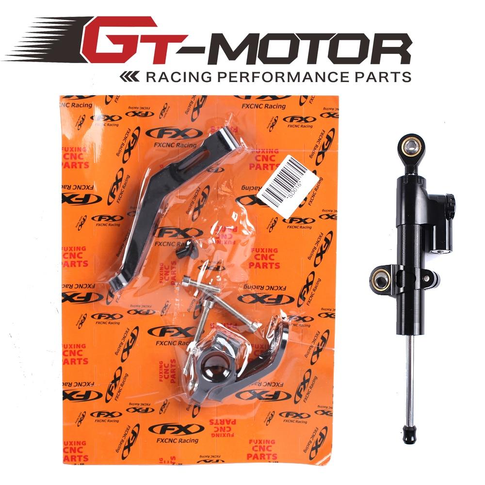 ФОТО GT Motor - CNC Steering Damper Complete Set for HONDA CBR954RR 2002-2003