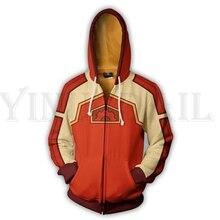 Anime Tekken 7 Sweatshirt Men and Women Zipper Hoodies Steve Fox 3d Print Hooded Jacket for Boys Costume Harajuku Streetwear цена и фото