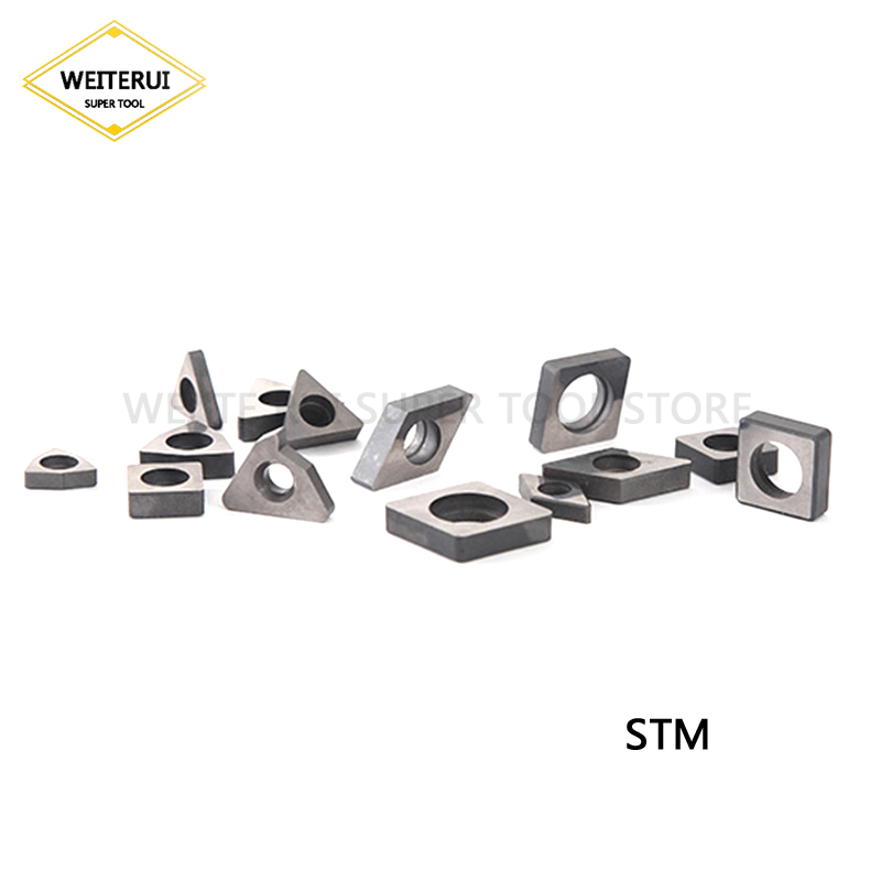10 pièces STM16 STM16R STM16L STM22 STM22R STM22L couteau de siège de cale de CNC en carbure pour tourner l'outil de tournage d'insertion