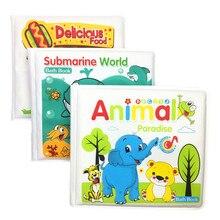 Baby Bath Toys Book Waterproof Educational Learning Baby Toddler Toys Bath Brinquedos Para Bebe Oyuncak