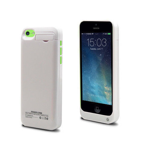 iphone 5 case charger 2200mah rechargeable backup external battery charger power 14492