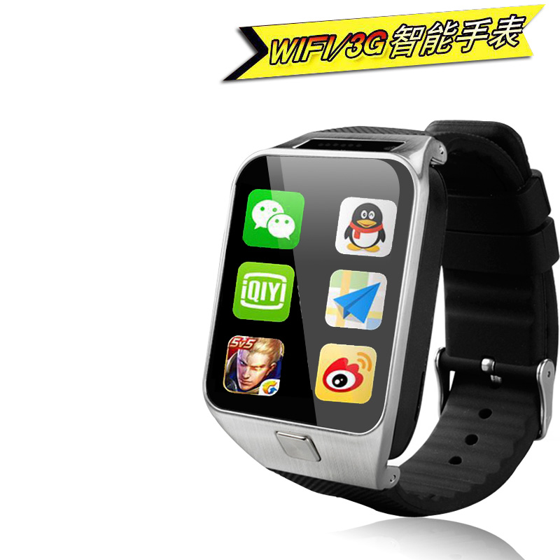 Newest Android Smart watch gw06 3G Android Camera 500MAH With GPS WIFI support 32G TF Card pk x01