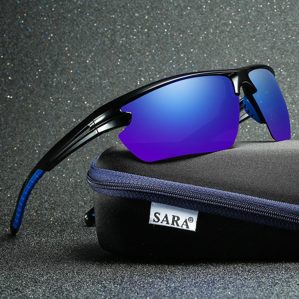Marque de luxe Designer Conduite Pêche Sport Dragon lunettes de Soleil  Hommes De Mode Bleu HD Verres Polarisés Hommes Lunettes de Soleil Lunettes  SARA 57582d4fb3a4
