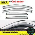 car styling Window Visor For Mitsubishi Outlander 2014 Rain PC Rain Shield Stickers Covers Car - Styling Awnings Shelters