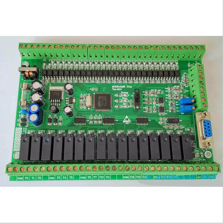 PLC industrial control board FX1N FX2N 40MR 4AD 2DA direct download can be even touch screen textPLC industrial control board FX1N FX2N 40MR 4AD 2DA direct download can be even touch screen text