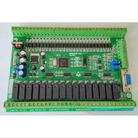 PLC Industrial Control Board FX1N FX2N 40MR 4AD 2DA Direct Download Can Be Even Touch Screen