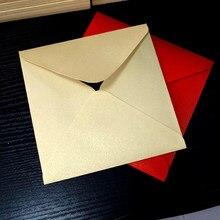 50 шт./лот 16*16 см квадратный приглашения свадебные приглашения конверты платок специальное приглашение Univeral конверт
