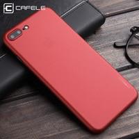 Cafele Matte PP Case for iPhone 6 6S 6Plus 6S Plus 7 7 Plus 4.7 inch / 5.5 inch Red Ultra thin 0.4mm Antifingerprint