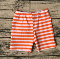 Muticolor 2017 little Toddler Boy Casual Shorts cool boy orange and white stripe cotton shorts