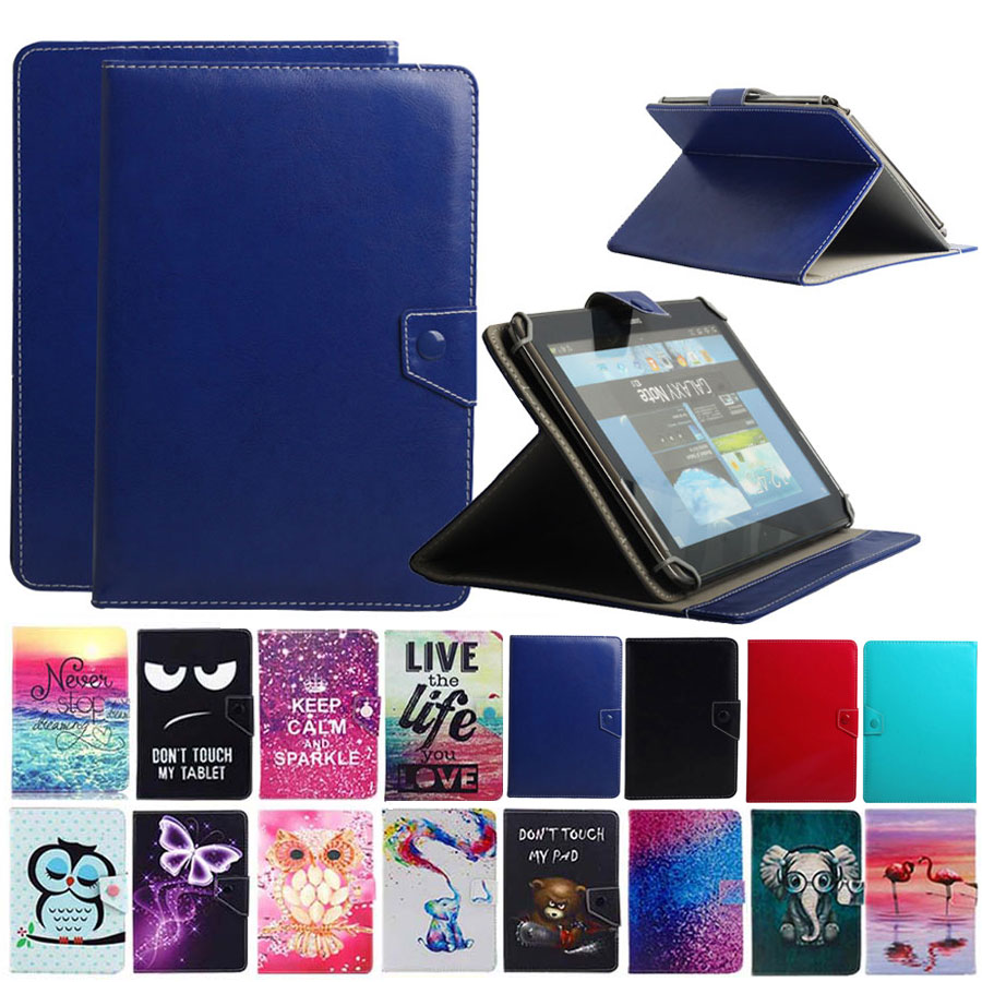 7 Inch Tablet Case For Samsung Galaxy Tab A A6 T280 E Lite T113 Tab 2/3/4 7.0 T210 T113 T230 Painted PU Leather Stand Covr Case
