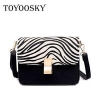 Toyooosky женские сумки-мессенджеры Роскошные Нубуковые кожаные сумочки женские сумки дизайнерские леопардовые сумки модная зимняя сумка на п...