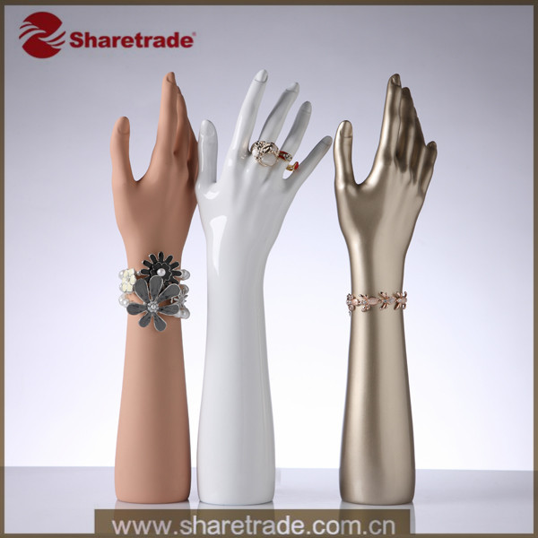 Mannequin Hand Jewelry Necklace Stand Holder Design Display Ring High Quality