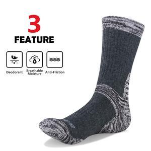 Image 4 - YUEGDE Брендовые мужские 5 пар высококачественные хлопковые дышащие удобные повседневные спортивные носки для бега пешего туризма