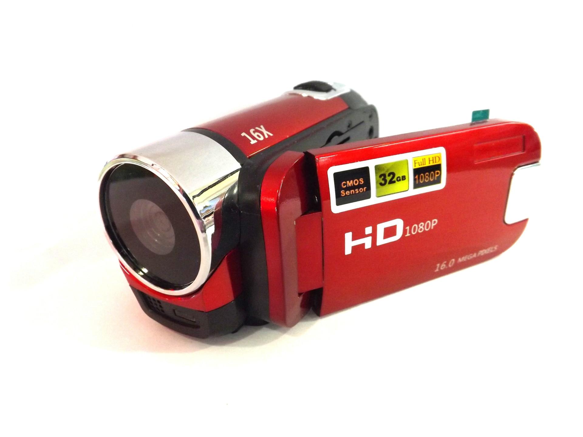 KaRue caméra vidéo numérique HD 1080P 32GB 16x Zoom Mini caméscope DV caméra prise en charge AVI 1080P 720P VGA - 2