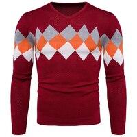 Männlich Pullover Winter Warme Unterwäsche Slim Fit Korean Fashion Herren Stricken Pullover Warme Polo Pullover Marke Designer Kleidung S570