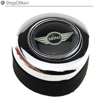 Mini Wing Chrome Polished Finish Engine Start Stop Button Push Cap Cover For 2nd Gen MINI