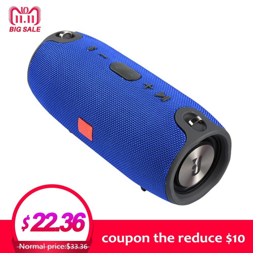 Inalámbrico mejor Altavoz Bluetooth portátil impermeable al aire libre Mini columna caja fuerte altavoz Subwoofer diseño para teléfono $30-10