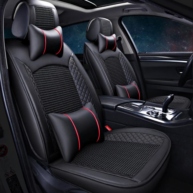 Meilleure qualité et livraison gratuite! Housses de siège de voiture complètes pour Skoda Octavia 2018-2012 housses de siège de mode durables pour Octavia 2016