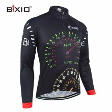 Bxio Winter Thermal Fleece Cycling Jersey Shirt  Bike Jersey Pro Bike Team Warm Long Sleeves Autumn Bicycle Clothing 022-J