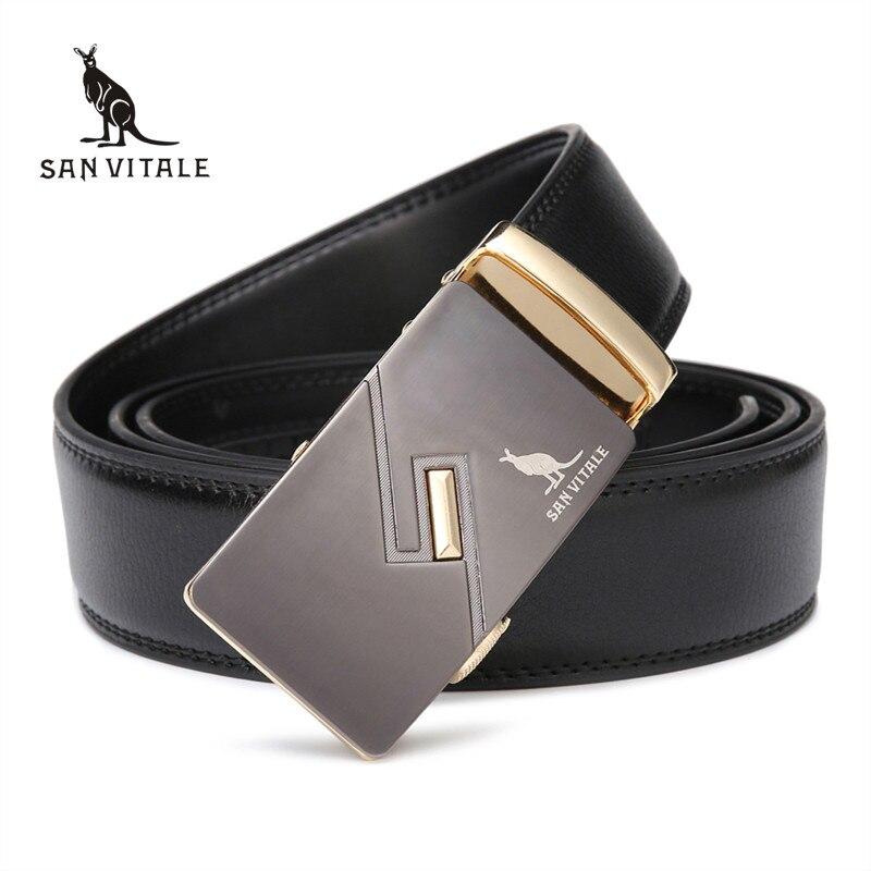 2016 Herrenmode Luxusmarke Gürtel Für Männer Echtem Ledergürtel Für Mann Designer Hohe Qualität Gürtel Rinds Kostenloser Verschiffen