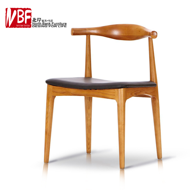 North Shore Furniture Modern Wood Chair Dining Chair Cushion Chinese
