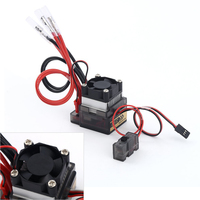 2pcs/lot 7.2V 16V 320A High Voltage ESC Brushed Speed Controller RC Car Truck Buggy Boat