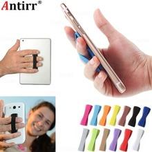 Универсальный эластичный ремешок с одной рукой Противоскользящий слинг для пальца держатель мобильного телефона Подставка для планшета Iphone samsung Xiaomi