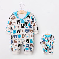 Baby Boys' One Piece Rompers Cartoon Long Sl ...