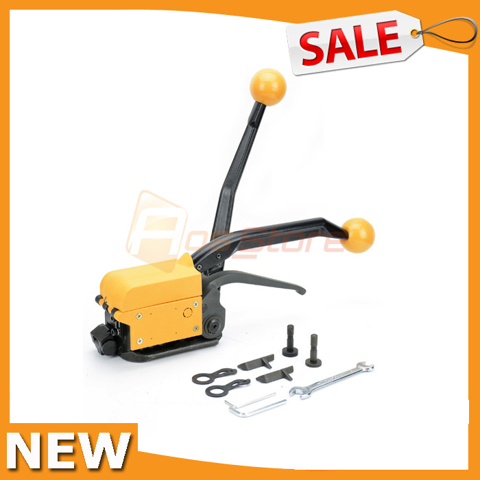 A333 Manual Steel Strapping Combination Packing Tool Machine For Width 1 2 3 4 Straps 13mm