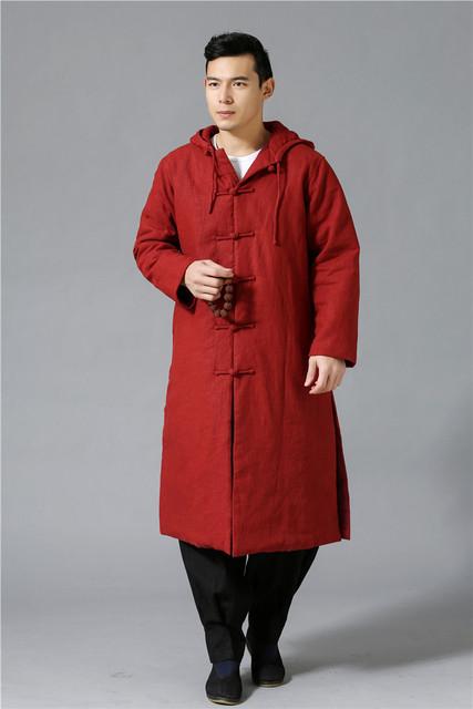 El más fresco de tendencia étnica moda abrigo Largo Trench Coat chaqueta cortavientos impermeable mianyiwaitao Hombres Abrigo plus size 6 colores